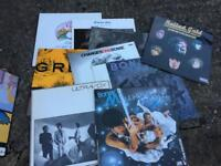 Rock. Prog Rock Vinyl Records Job Lot
