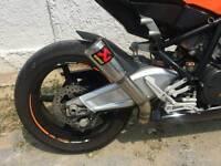 Ktm rc8 akrapovic full exhaust