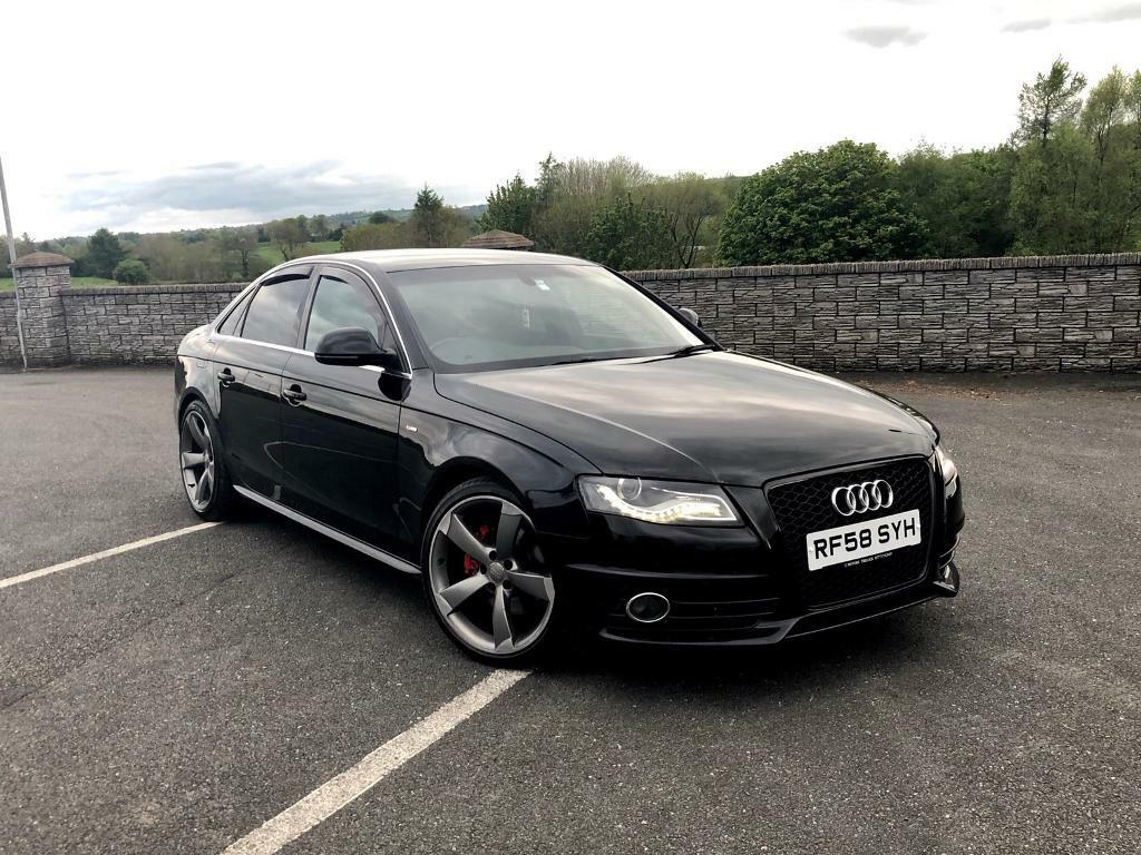 2 0 tdi audi a4 s line b8 black in omagh county tyrone gumtree. Black Bedroom Furniture Sets. Home Design Ideas