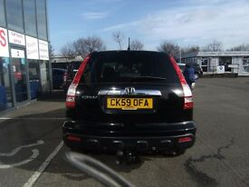 2009 59 HONDA CR-V 2.2 I-CTDI ES 5D 139 BHP***GUARANTEED FINANCE***PART EX WELCOME***
