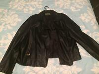 Women's leather jacket size 24