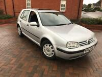 2002/02 Volkswagen Golf S 1.4 Service History By main Dealer Low mileage Years Mot