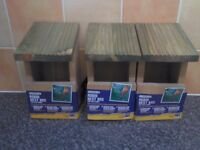 bird boxes x 3 brand new 3.50 each