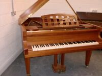 RITMULLER 5FT BABY GRAND ROLLER ACTION RECENT RE STRING £1200 CAN DELIVER