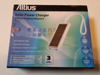 ALTIUS SOLAR POWER CHARGER