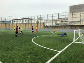 Weekend 6 a side football WHITECHAPEL EAST LONDON - players wanted