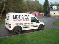 MOT'S £35*SERVICE'S *FROM £30* BATTERYS FROM £49 WITH 2 YEARS GUARANTEE..NEW TYRES FROM £39