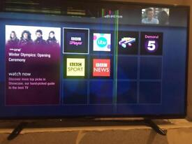 40 inch Panasonic smart tv