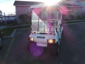2007 club car Villager MULTIPASSENGER GOLF CART  GAS POWERED Belleville Belleville Area image 3