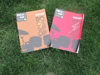 Drums - Drum Tuition - 2 x Books and CDs - Trinity Rock & Pop Grades 2 and Grade 3