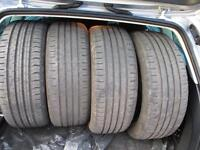 continental radial tyres.FANTASTIC BUY. save money on tyres and have more money for Christmas!