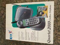 BT cordless telephone