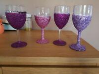 Stunnin glitter glasses