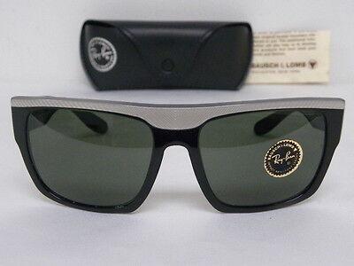 Vintage B&L Ray Ban Drifter Black White Sunglasses (Ray Ban Sunglasses Black And White)