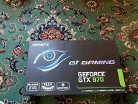 Gigabyte Geforce GTX 970 4gb graphics card