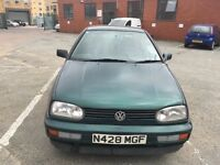 VW Golf Good Runner with 1 Owner But No mot( Can be done on request)