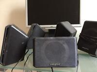 Creative set of 5 mini speakers