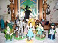12 Wizard of oz figurines by David Grossman