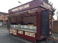 Catering trailer / burger van / food trailer