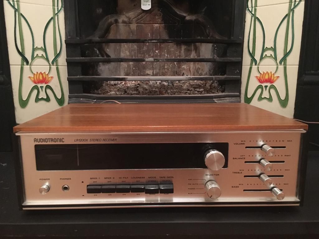 Audiotronic LR1200X Stereo Receiver