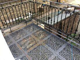 Iron Balcony balustrade