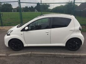 Toyota Aygo (free road tax) (1 litre) (cheap insurance)