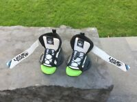 Kids Junior Wakeboard Binding Boots Liquid Force