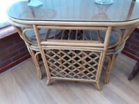Table and chairs for conservatory