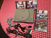 PlayStation one (grey)