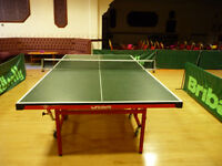 Tables Tennis Tables Ex League Excellent Condition