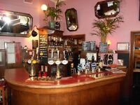 """Bar & Waiting Staff Required; - """"Part Time"""""""