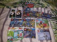 Lego Polybags BUNDLE!! Star Wars, SuperHeroes, nexo Knights, Duplo, Creator, Christmas...