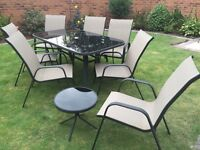 6 Seater Patio table and chair set for sale