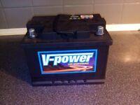 V Power battery 12 v