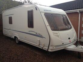 Fixed bed caravan excellent condition