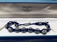 Crystal ball bracelet in presentation box. Unworn