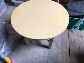 Limed oak coffee table