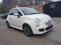 2013 (63) FIAT 500 S 1.2 - 3 DOOR - LOW MILES 29K - LONG MOT - £30 TAX FOR YEAR - IDEAL FIRST CAR