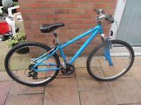 ladies apollo mountain bike small 14inch frame with bike lock £45.00