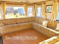 *DISABLED ACCESS STATIC CARAVAN , LARGE STATIC CARAVAN , WHEELCHAIR FRIENDLY , PERFECT CONDITION !!