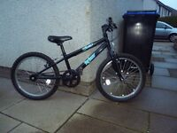 "Childs Bike, Trax Treo, 20"" wheels, single speed, suit 5-7 year old, like new"