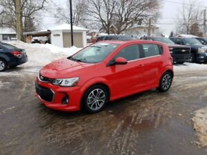 2017 Chevrolet Sonic LT Auto RS Package, Sunroof