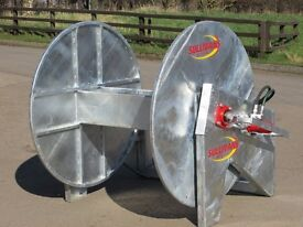 Slurry reeler front and back systems, umbilical system