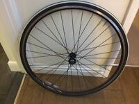 Alex rims front and rear wheel with 12-27 shimano gear 9 speed hub complete with tyres