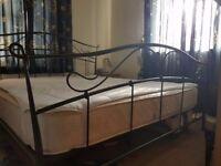 Super King Size Metal Bed Frame