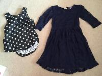 Dress and top age 9-10 years