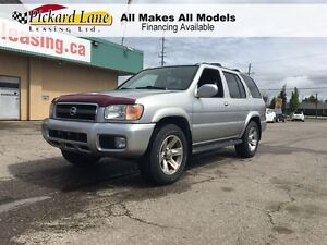 2004 Nissan Pathfinder LE! 4WD! LEATHER AND SUNROOF!