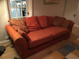 FREE 4 seater Sofa (Ashtead, pick up only)