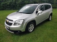 Chevrolet Orlando 2.0 VCDi LT 5dr 7 Seater, 2011, Just serviced with an MOT,GEARBOX ISSUE