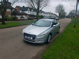 Peugeot 508 2.0 hdi Active 2013 18k fsh genuine very low miles warranted